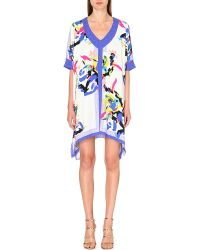Saloni - Joelle Abstract-Print Kaftan - For Women - Lyst