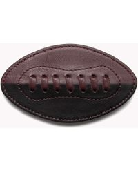 Tommy Hilfiger - Leather Football Badge - Lyst