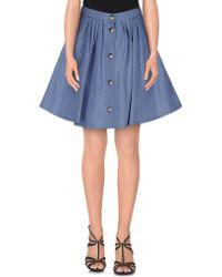 Miu Miu | Mini Skirt | Lyst