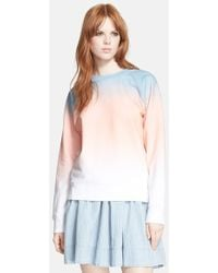 Marc By Marc Jacobs Ombre Sweatshirt - Lyst