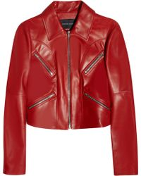 Jonathan Saunders Matilda Leather Jacket - Lyst