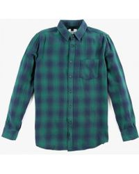 Topman   L/s Check Shirt   Lyst