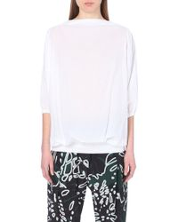 Vivienne Westwood Anglomania Raya Cotton Top - Lyst
