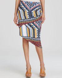 Lyssé - Lyssé Sedona Print Asymmetric Skirt - Lyst
