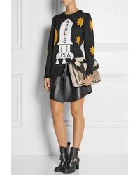 Coach Leather Mini Skirt - Lyst