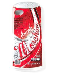 Moschino 'Drink ' Iphone 5/5S Cover - Lyst