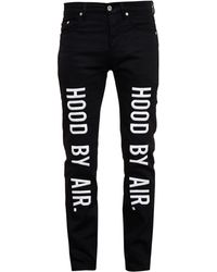 Hood By Air Embroidered Slim Fit Jeans - Lyst