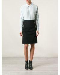 Acne Studios Black Kassia Skirt - Lyst