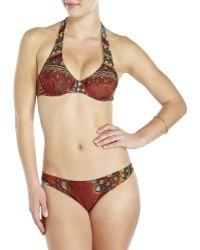 Jean Paul Gaultier - Brown Printed Bikini - Lyst