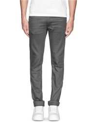 Acne Studios 'Max Shadow' Brushed Cotton Blend Jeans - Lyst