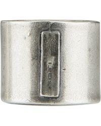 Goti Silver Ring - Lyst