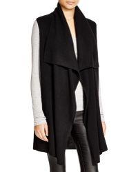 Magaschoni Cashmere Vest - Black