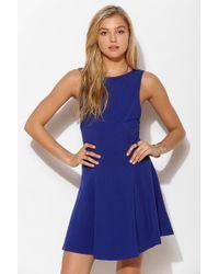 Kimchi Blue - Lala Knit Skater Dress - Lyst