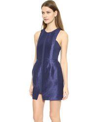 Finderskeepers Blue Crystalised Dress  - Lyst
