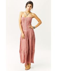 Jen's Pirate Booty Cherokee Rose Maxi Dress - Lyst