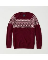 Abercrombie & Fitch - Fair Isle Sweater Exchange Color / Size - Lyst