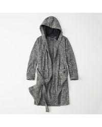 Abercrombie & Fitch - Fleece Robe - Lyst