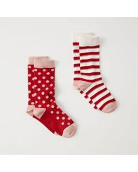 Abercrombie & Fitch - 2-pack Socks - Lyst