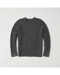 Abercrombie & Fitch | Shaker Crewneck Sweater Exchange Color / Size | Lyst