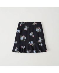 Abercrombie & Fitch - Printed Mini Skirt - Lyst