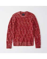 Abercrombie & Fitch - Cozy Cable Knit Sweater - Lyst