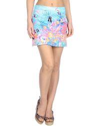 Miss Naory Blue Beach Dress - Lyst