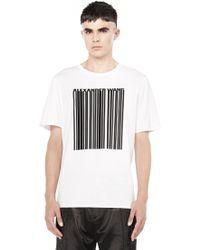Alexander Wang | Barcode Short Sleeve Tee | Lyst