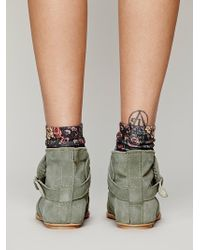 Free People Ties To Simplicity Boot - Grey