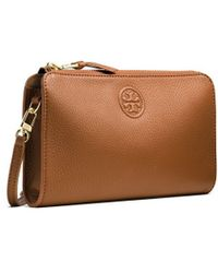 Tory Burch Marion Wallet Cross-Body - Lyst
