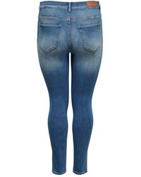 Only Carmakoma Curvy Jeans - Blau
