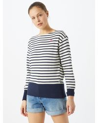 G-Star RAW Sweatshirt 'Xzyph yd stripe r sw wmn ls' - Mehrfarbig