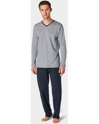 Tom Tailor Pyjama - Blau