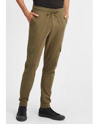 Solid Sweatpants 'Jory' - Grün
