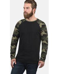 Solid Sweatshirt 'Cooper' - Schwarz