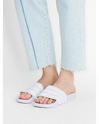 adidas Originals Badeschuhe 'Adilette' - Lila