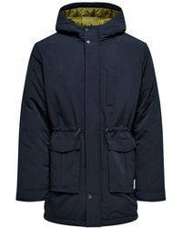 Only & Sons Parka - Blau