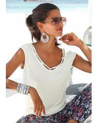 S.oliver Beachwear Strandshirt - Mehrfarbig