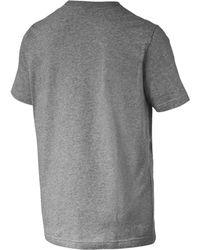 PUMA T-Shirt 'Essentials' - Grau