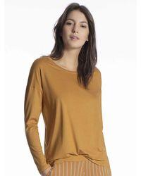 CALIDA Sweatshirt - Mettallic