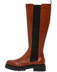 Bianco Chelsea Boots 'Darlene' - Braun