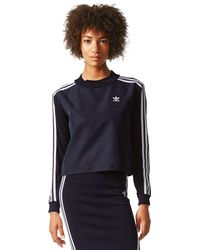 adidas Originals Sweatshirt '3 Stripes' - Blau