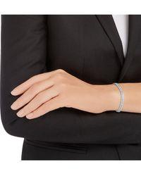 Swarovski Armband »SUBTLE DOUBLE, WEISS, RHODINIERT, 5221397« mit ® Kristallen - Mehrfarbig