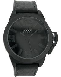 OOZOO Uhr - Schwarz