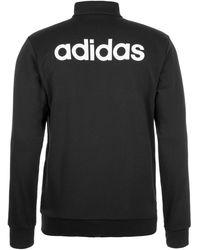 adidas Originals Trainingsjacke 'Essentials Linear' - Schwarz
