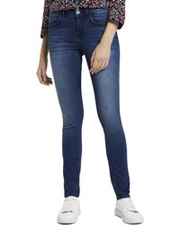 Tom Tailor Jeanshosen Alexa Skinny Jeans - Blau