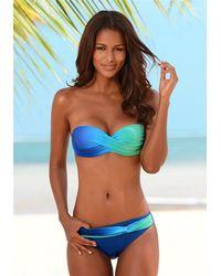 Lascana Bandeau-Bikini - Blau