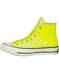 Converse Schuhe ' Chuck 70 Hi ' - Gelb