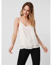 Vero Moda Trägerhemd Oberteil - Weiß