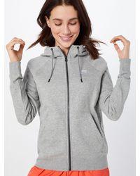 Nike Sweatjacke 'Essntl' - Grau
