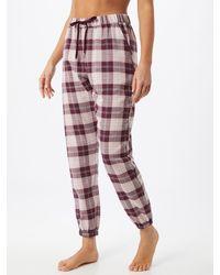 Hunkemöller Pyjamahose - Rot